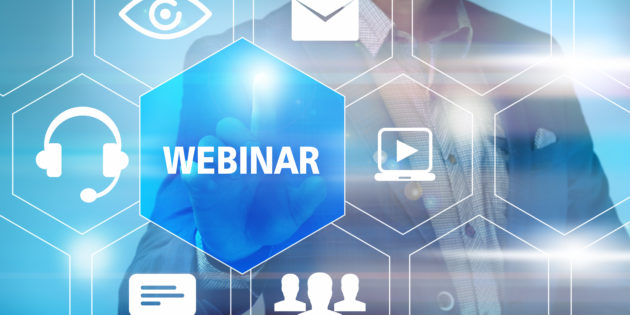 how to set up a webinar